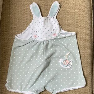 Bunnies By The Bay-  Bunny Infant Girls Romper
